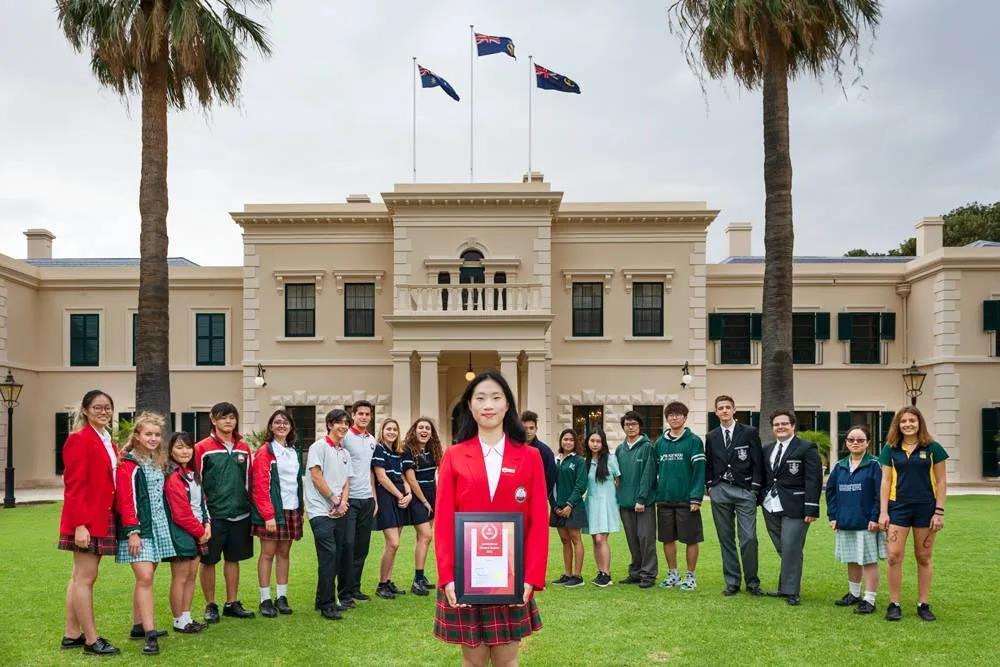 2021国际学生奖类别